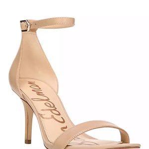 Sam Edelman Patti leather heel sandals new!